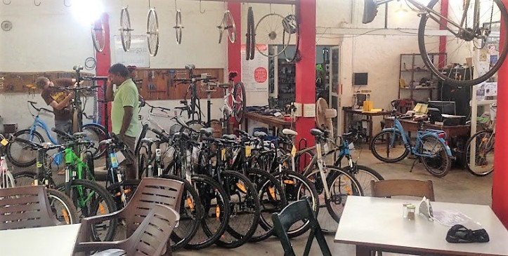 Auroville Bike shop